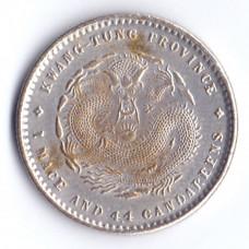 20 центов 1890-1909 Китай, Кванг-Тунг провинция - 20 cents 1890-1909 China Kwang-Tung province, №2