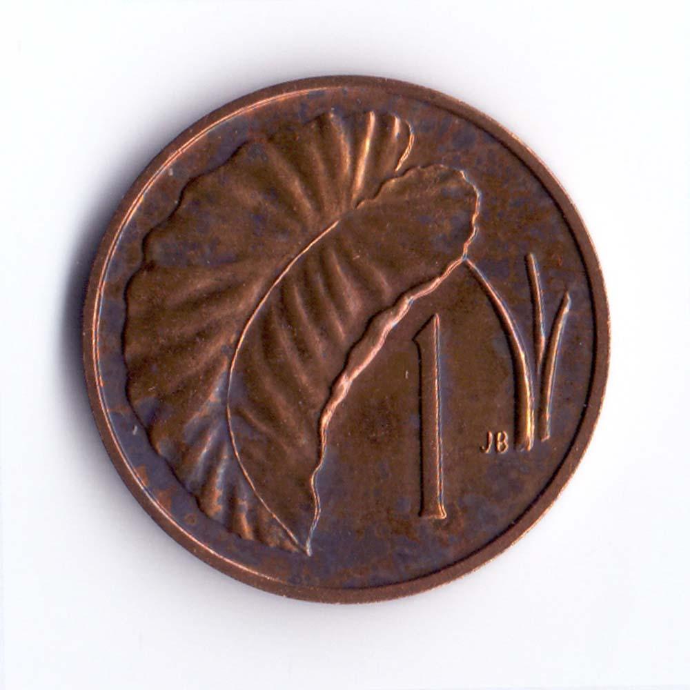 1 цент 1983 острова Кука - 1 cent 1983 Cook Islands