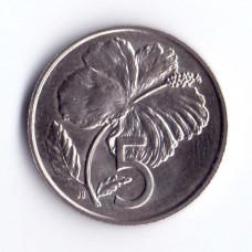 5 центов 1983 острова Кука - 5 cents 1983 Cook Islands