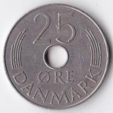 25 эре 1977 Дания - 25 ore 1977 Denmark