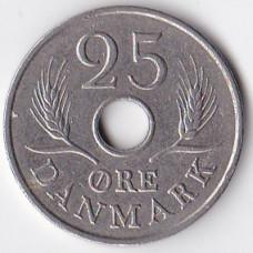 25 эре 1967 Дания - 25 ore 1967 Denmark