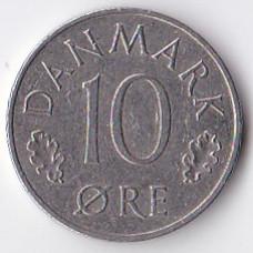 10 эре 1977 Дания - 10 ore 1977 Denmark