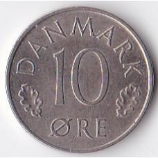 10 эре 1984 Дания - 10 ore 1984 Denmark