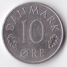 10 эре 1974 Дания - 10 ore 1974 Denmark