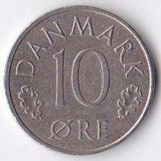 10 эре 1981 Дания - 10 ore 1981 Denmark