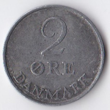 2 эре 1962 Дания - 2 ore 1962 Denmark