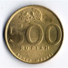 500 рупий 2000 Индонезия - 500 rupiah 2000 Indonesia, из оборота