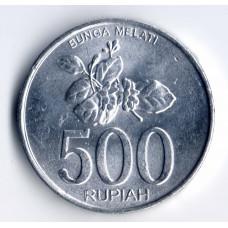 500 рупий 2003 Индонезия - 500 rupees 2003 Indonesia, из оборота