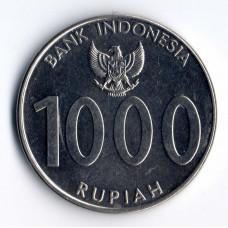 1000 рупий 2010 Индонезия - 1000 rupiah 2010 Indonesia, из оборота