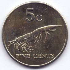 5 центов 2012 Земля Мэри Бэрд - 5 cents 2012 Earth Mary Byrd