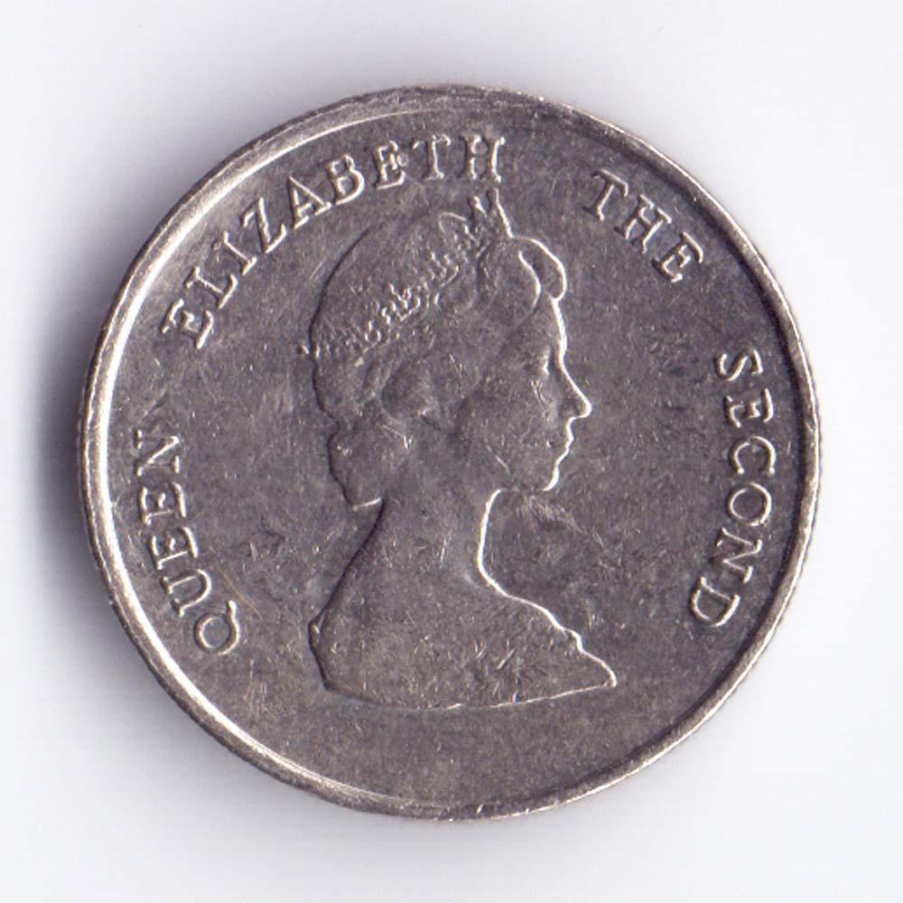 10 центов 1981 Восточно-Карибские штаты - 10 cents 1981 Easi Caribbean states