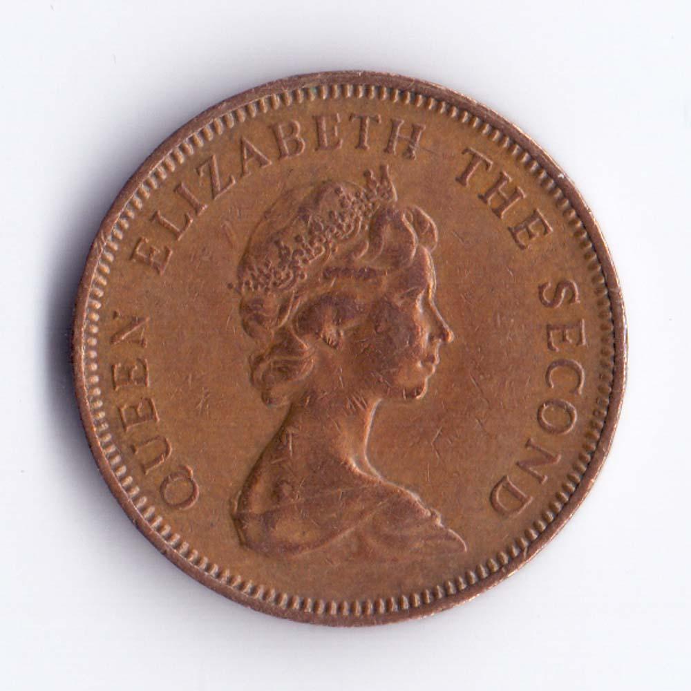 1 пенни 1985 Фолклендские острова - 1 penny 1985 Falkland Islands