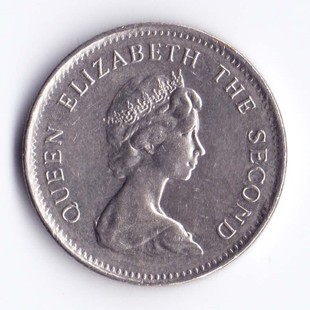 5 пенсов 1992 Фолклендские острова - 5 pence 1992 Falkland Islands