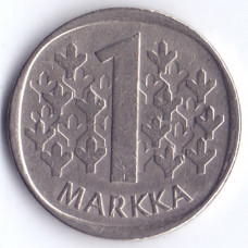 1 марка 1981 Финляндия - 1 markka 1981 Finland