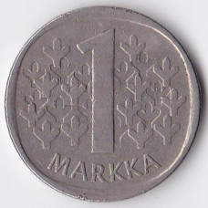 1 марка 1971 Финляндия - 1 markka 1971 Finland