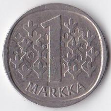 1 марка 1983 Финляндия - 1 markka 1983 Finland, N