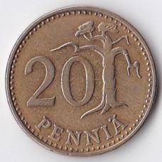 20 пенни 1965 Финляндия - 20 pennia 1965 Finland