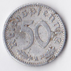 50 рейхспфеннигов 1941 Германия (Третий рейх) - 50 reichspfennig 1941 Germany, A