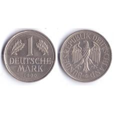 1 mark 1990 G BUNDESREPUBLIK DEUTSCHLAND - 1 марка 1990 G Республика Германия