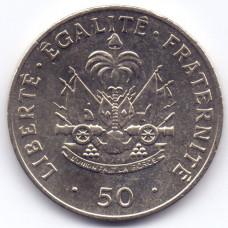 50 сантимов 1991 Гаити - 50 centimes 1991 Haiti