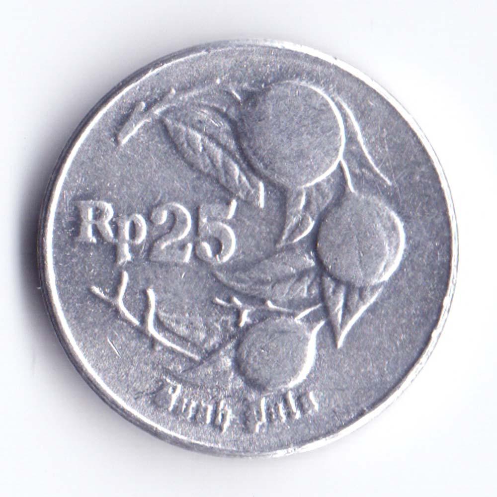 25 рупий 1996 Индонезия