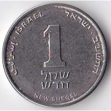 1 новый шекель 2012 Израиль - 1 new sheqel 2012 Israel