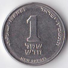 1 новый шекель 2004 Израиль - 1 new sheqel 2004 Israel