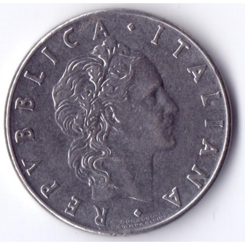 50 Lir 1976 Italia - 50 Лир 1976 Италия