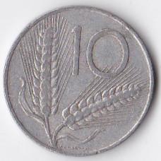 10 лир 1968 Италия - 10 lire 1968 Italy