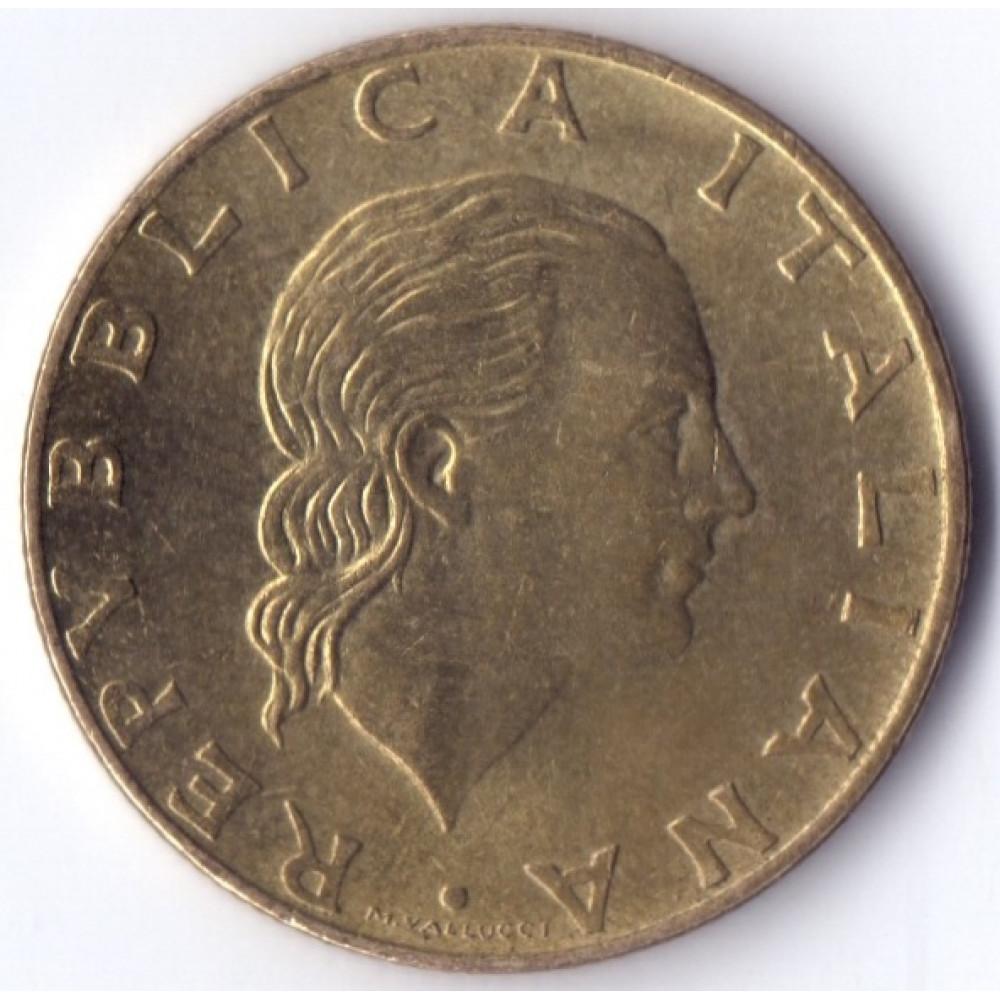 Италия 200 лир 1992
