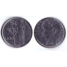 100 Lir 1986 Italia - 100 Лир 1986 Италия