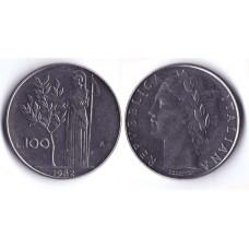 100 Lir 1982 Italia - 100 Лир 1982 Италия