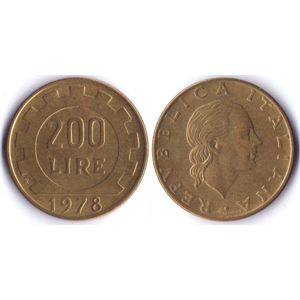 200 Lir 1978 Italia - 200 Лир 1978 Италия