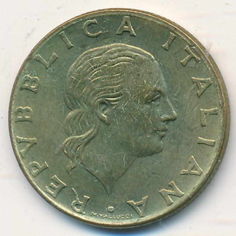Италия 200 лир 1980
