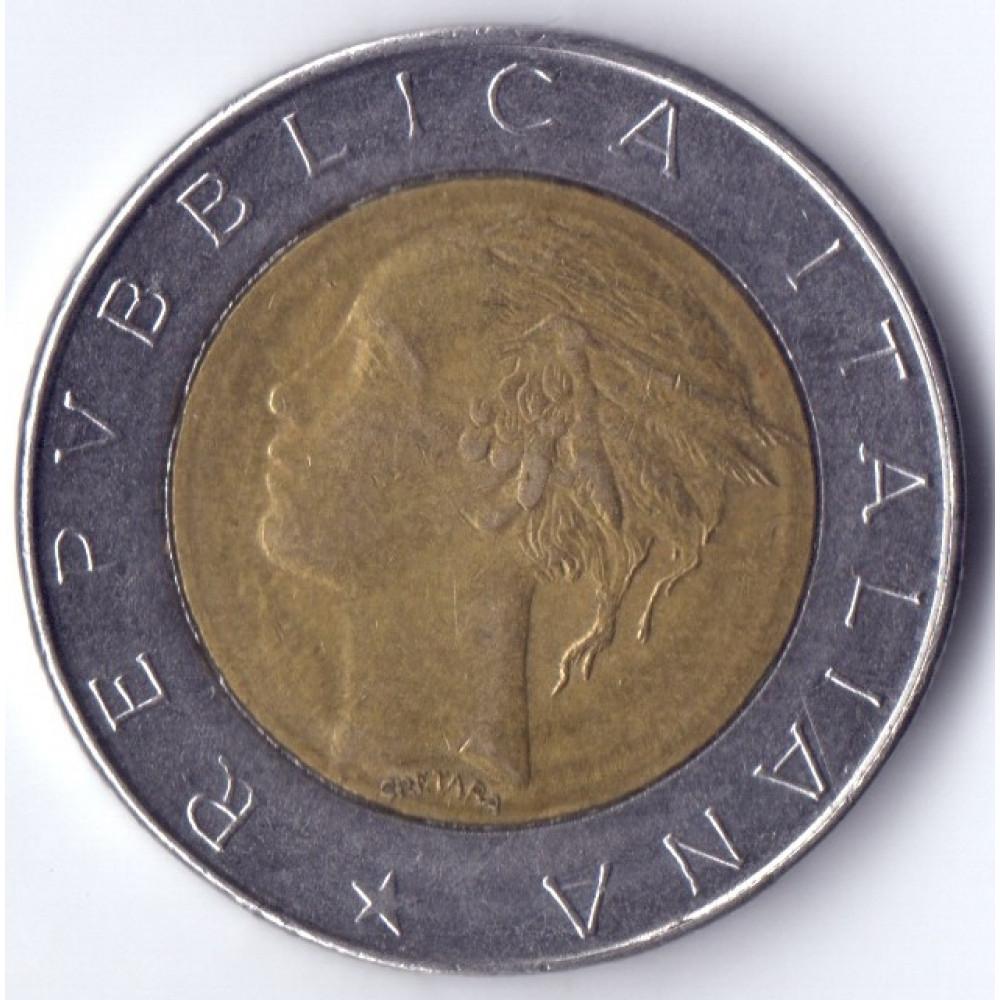 500 Lir 1984 Italia - 500 Лир 1984 Италия