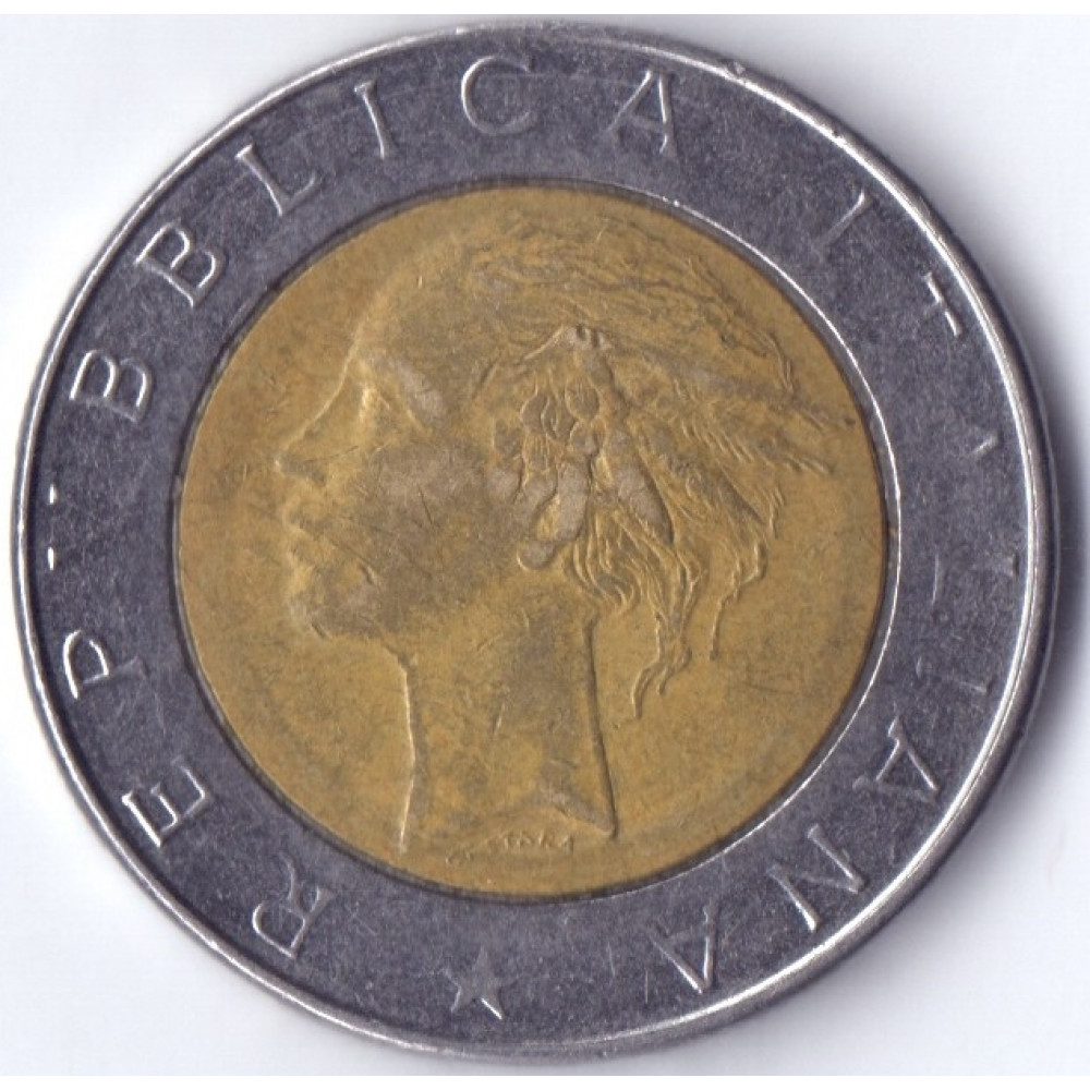 500 Lir 1985 Italia - 500 Лир 1985 Италия