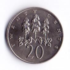 20 центов 1969 Ямайка - 20 cents 1969 Jamaica