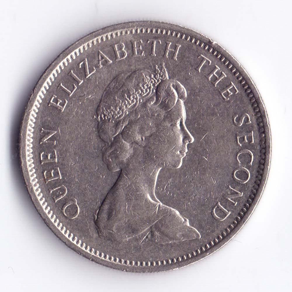 10 новых пенсов 1980 Джерси - 10 new pence 1980 Bailiwick of Jersey