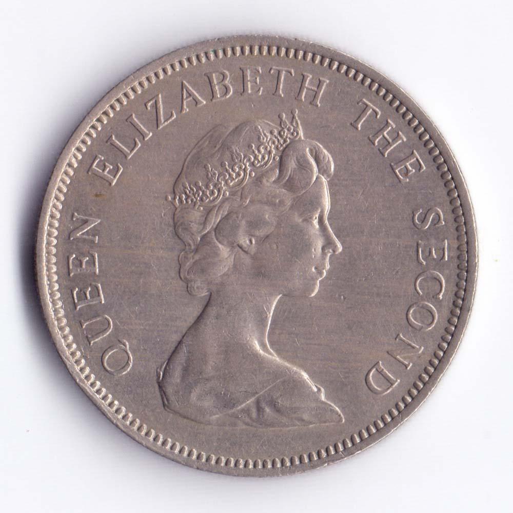 10 новых пенсов 1968 Джерси - 10 new pence 1968 Bailiwick of Jersey