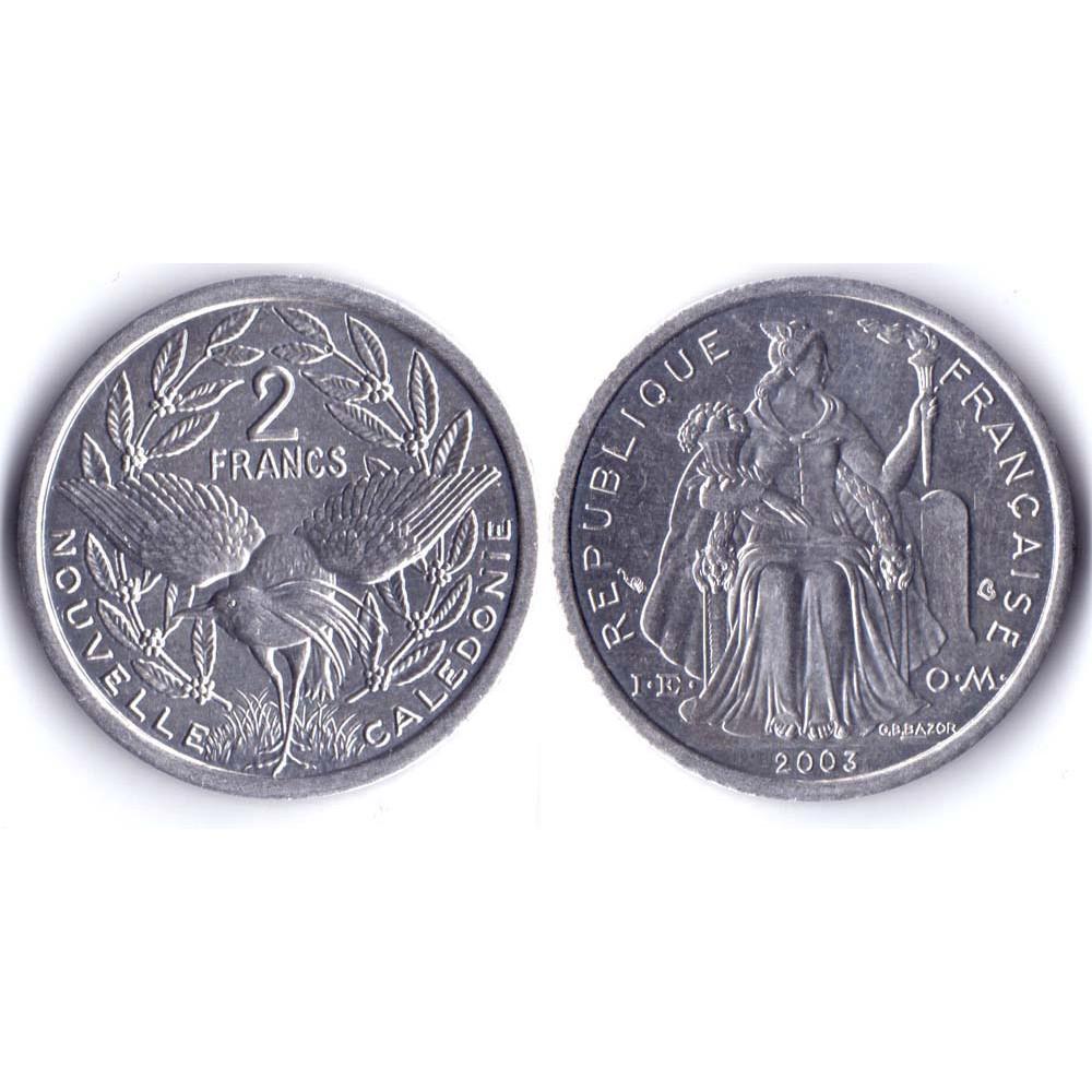 2 Francs 2003 Nouvelle Caledonie - 2 Франка 2003 Новая Каледония