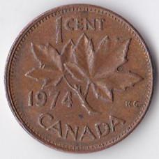 1 цент 1974 Канада - 1 cent 1974 Canada