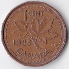 1 цент 1985 Канада - 1 cent 1985 Canada