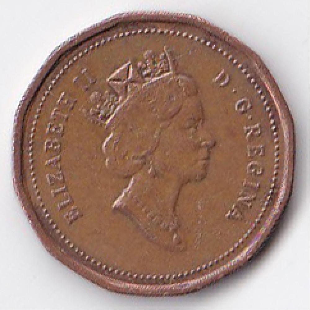 1 цент 1993 Канада - 1 cent 1993 Canada