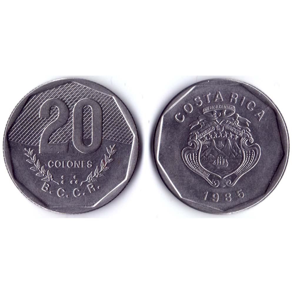 20 Colones 1985 Costa Rica - 20 Колонов 1985 Коста-Рика