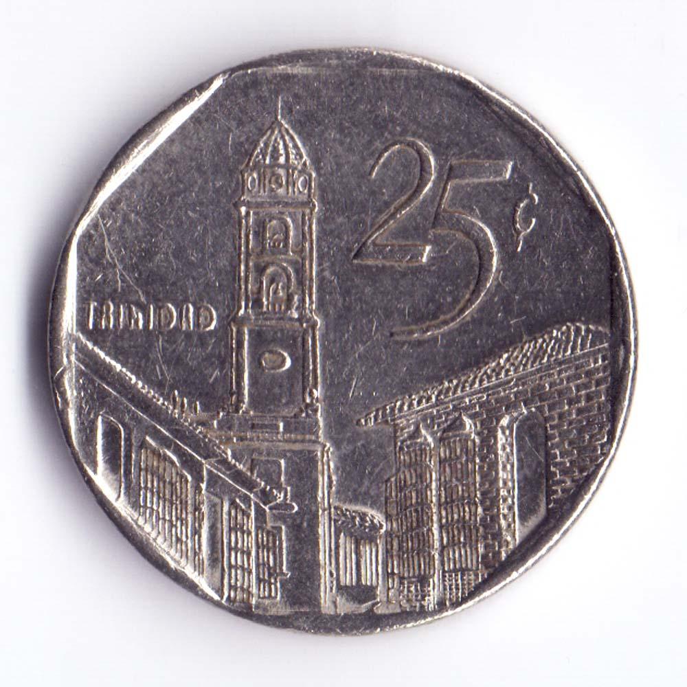25 сентаво 2001 Куба
