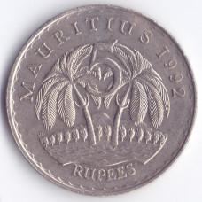 5 рупий 1992 Маврикий - 5 rupee 1992 Mauritius, из оборота