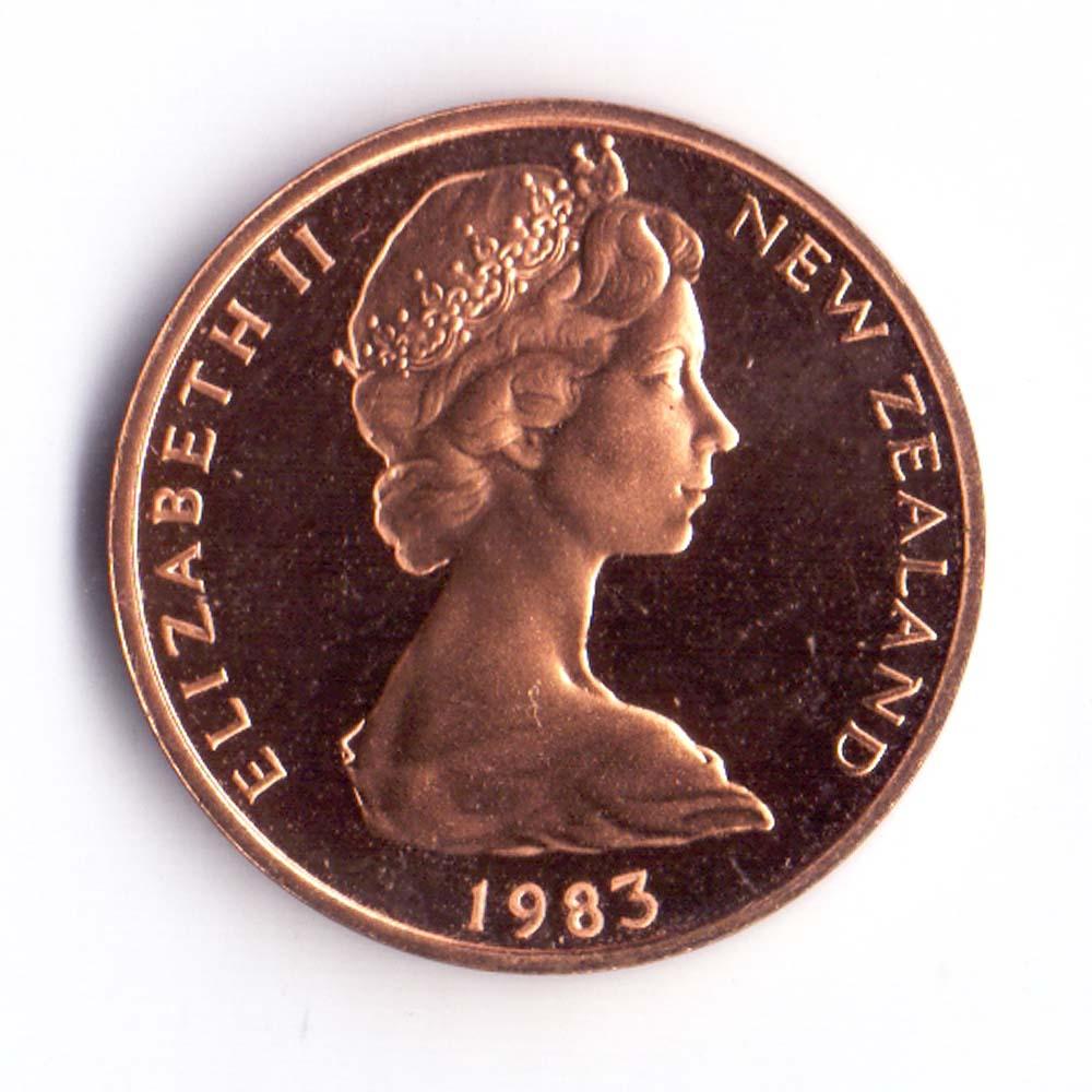1 цент 1983 Новая Зеландия