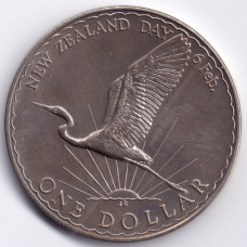 1 доллар 1974 Новая Зеландия - 1 dollar 1974 New Zealand