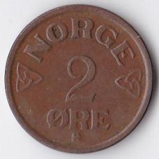 2 эре 1953 Норвегия - 2 ore 1953 Norway