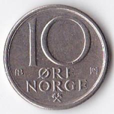 10 эре 1977 Норвегия - 10 ore 1977 Norway